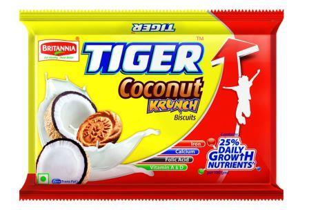 Britannia Tiger Coconut  Krunch Biscuits 300 g