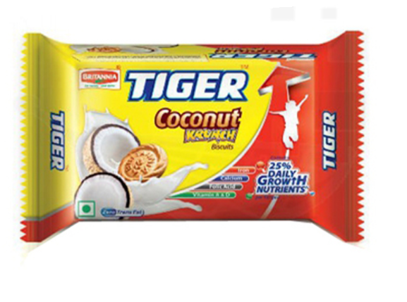 Britannia Tiger Coconut  Krunch Biscuits 103 g