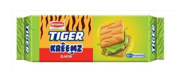 Britannia Tiger Kreemz Elaichi 100 g