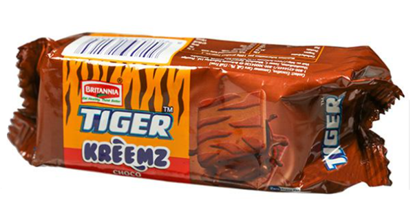 Britannia Tiger Kreemz Choco 100 g