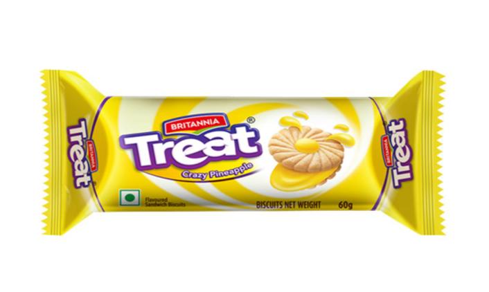 Britannia Treat - Crazy Pineapple Biscuits 60 g
