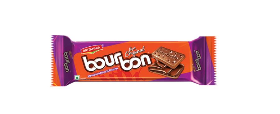 Britannia Bourbon Chocolate Cream Biscuits - 120 g