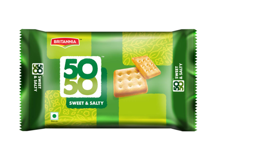 Britannia 50 50 Sweet and Salty Biscuits - 200 g