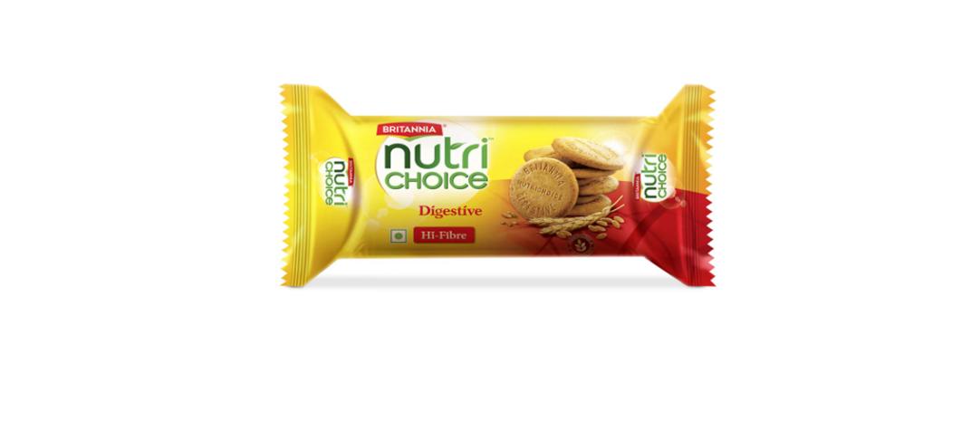 Britannia Nutri Choice Digestive Wholesome Wheat Biscuits