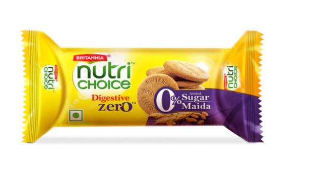 Britannia Nutri Choice Digestive -Zero Biscuits 100 gm