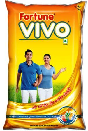 Fortune Vivo Cooking Oil - 1 Litre Pouch