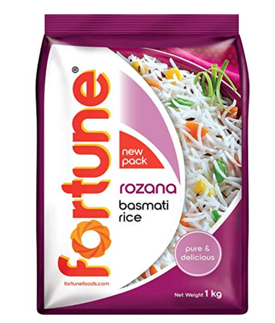 Fortune Rozana Basmati Rice 1 Kg