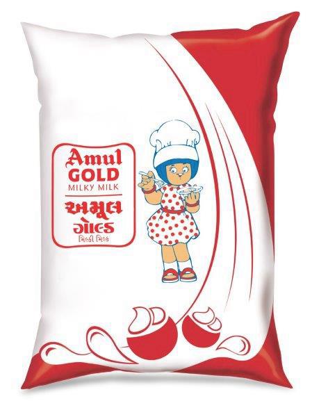 Amul Gold - 1 Ltr pouch