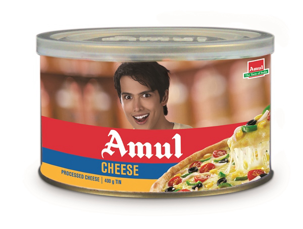 Amul Processed Cheese Tin - 400 Gm