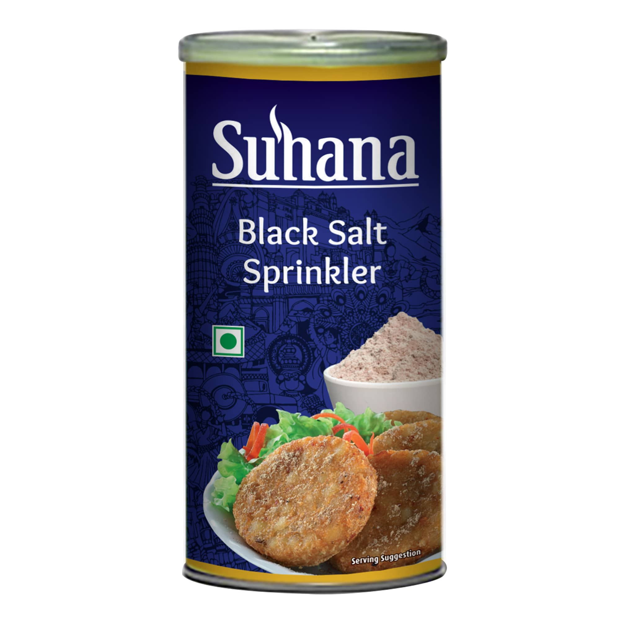 Suhana Black Salt Sprinkler