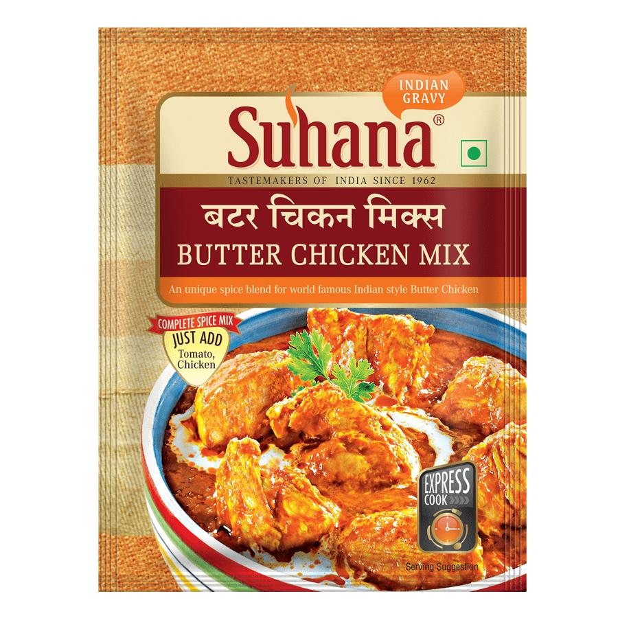 Suhana Butter Chicken Spice Mix 50g Pouch