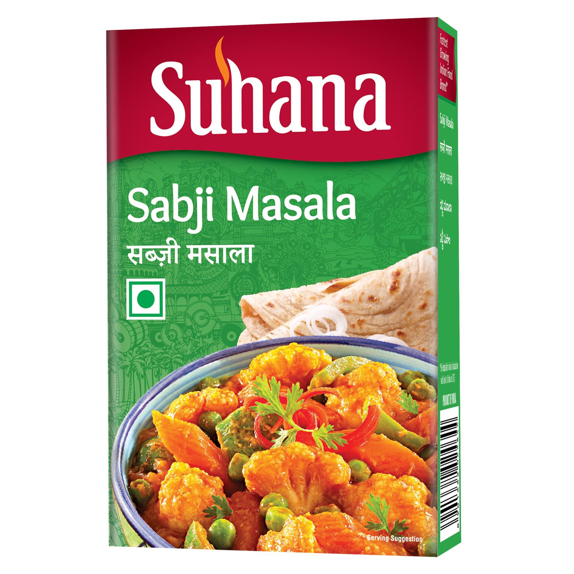 Suhana Sabji Masala 50 g Box
