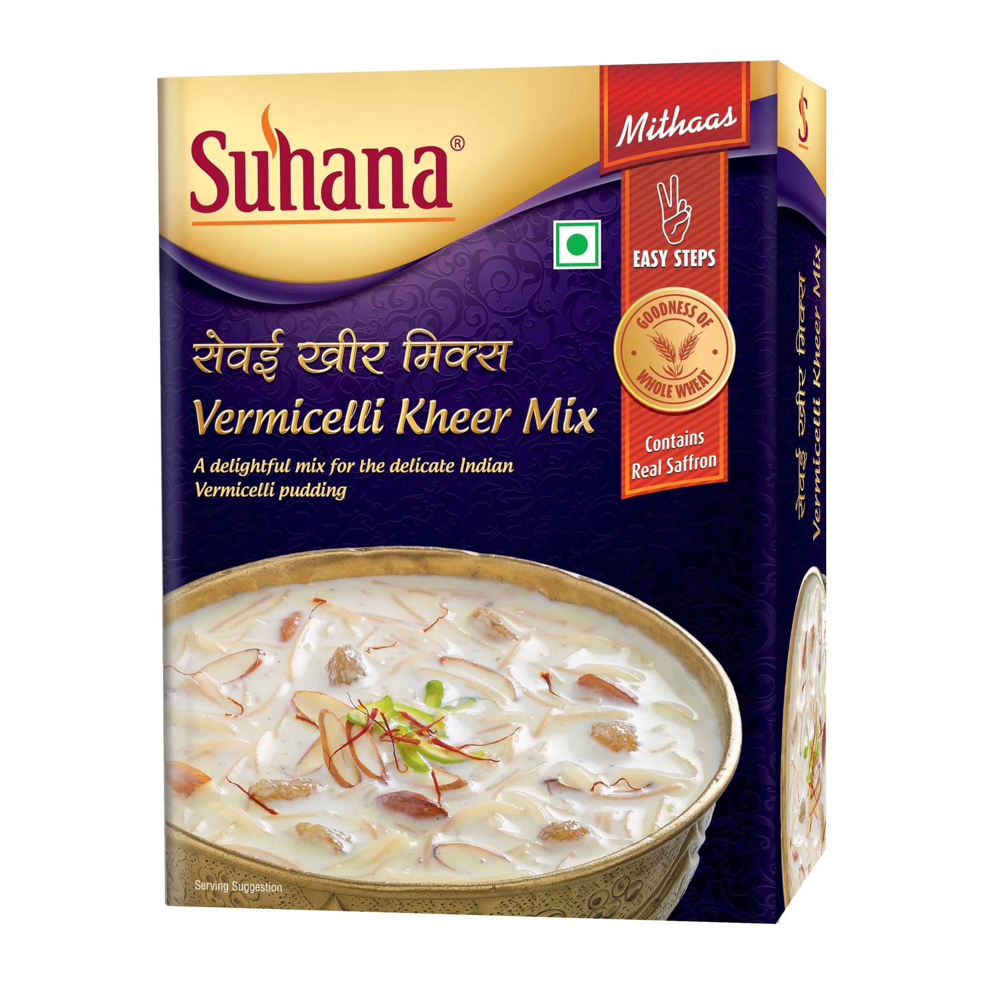Suhana Vermicelli Kheer Mix 150 g Box