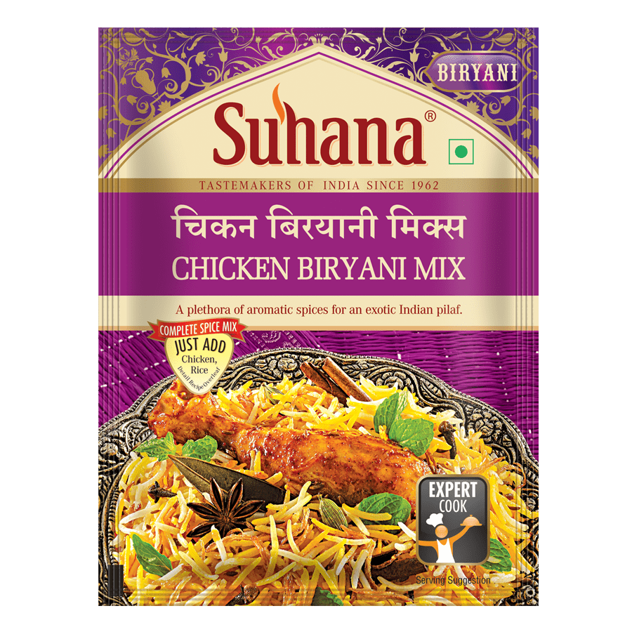 Suhana Chicken Biryani Spice Mix 50 g