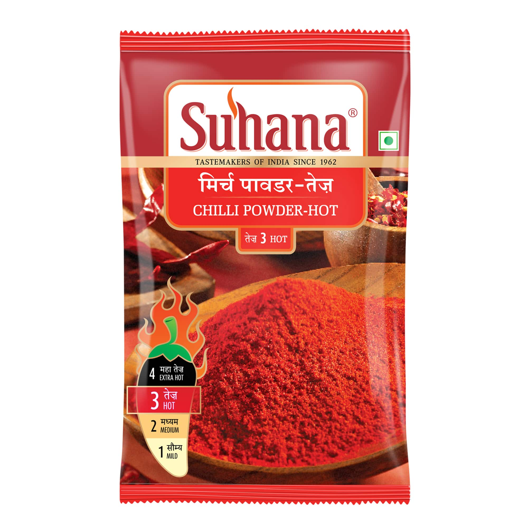Suhana Hot Chilli Powder Pouch