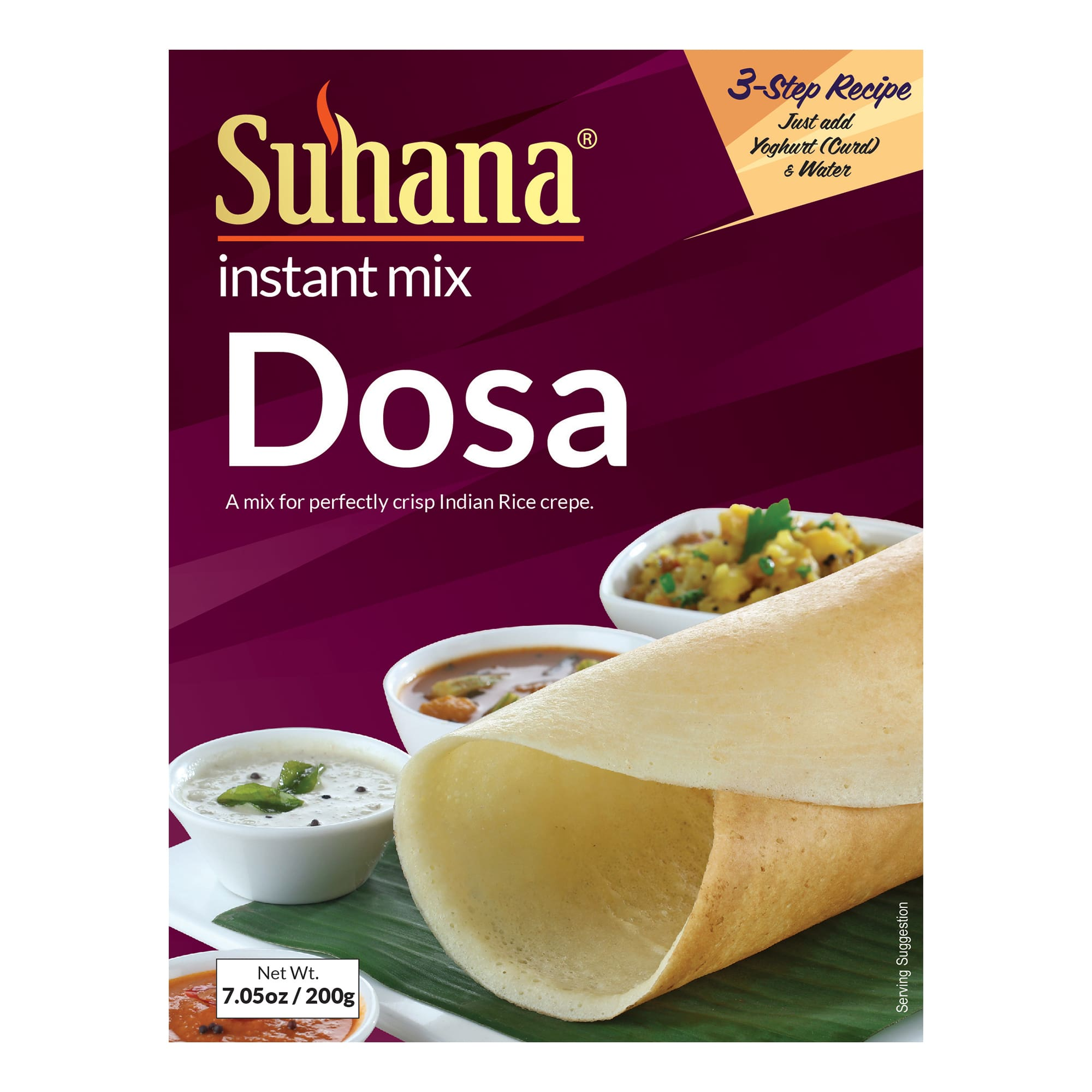 Suhana Rice Dosa Mix 200 g