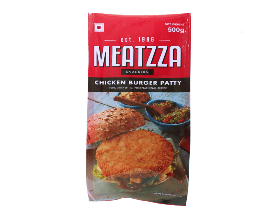 Meatzza Chicken Burger Patty 500 g