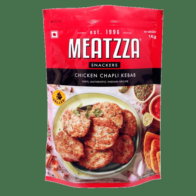 Meatzza Chicken Chapli Kebab 1 Kg