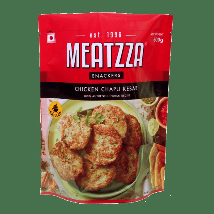 Meatzza Chicken Chapli Kebab 500 g