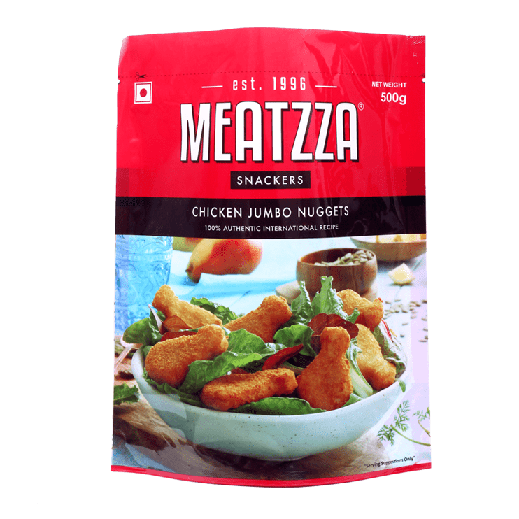 Meatzza Chicken Jumbo Nuggets 500 g