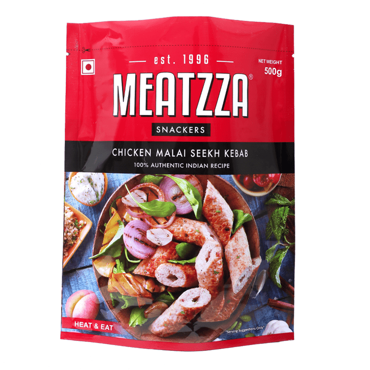 Meatzza Chicken Malai Seekh Kebab 500 g