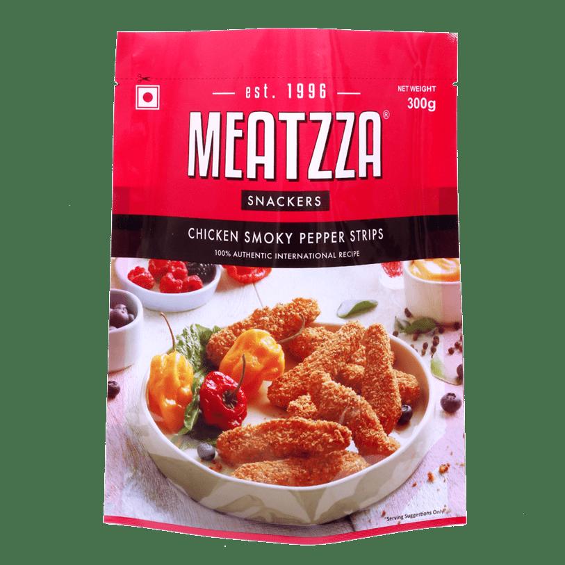 Meatzza Chicken Smoky Pepper Strips 300 g