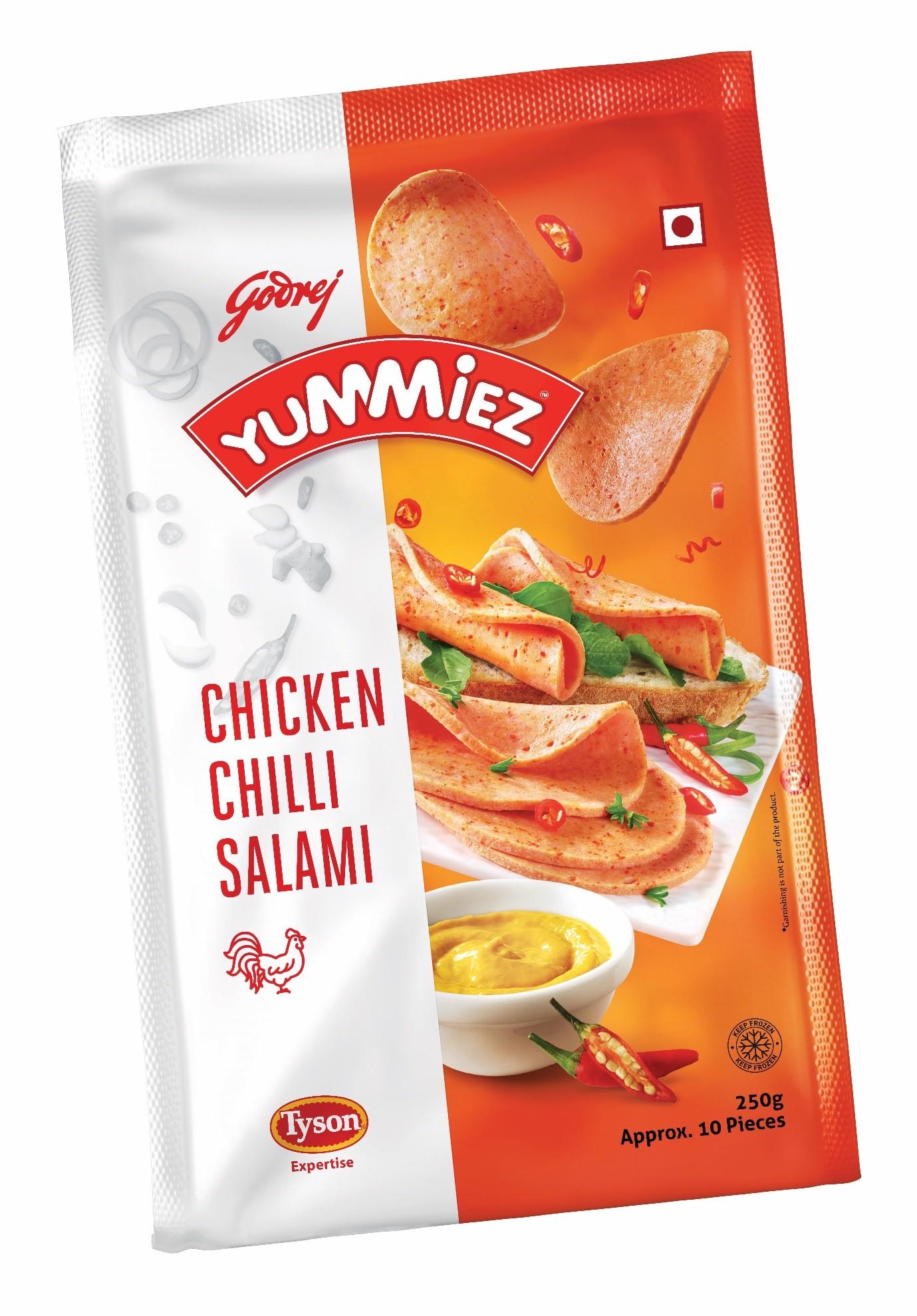 Yummiez Chicken Chilli Salami 250 g