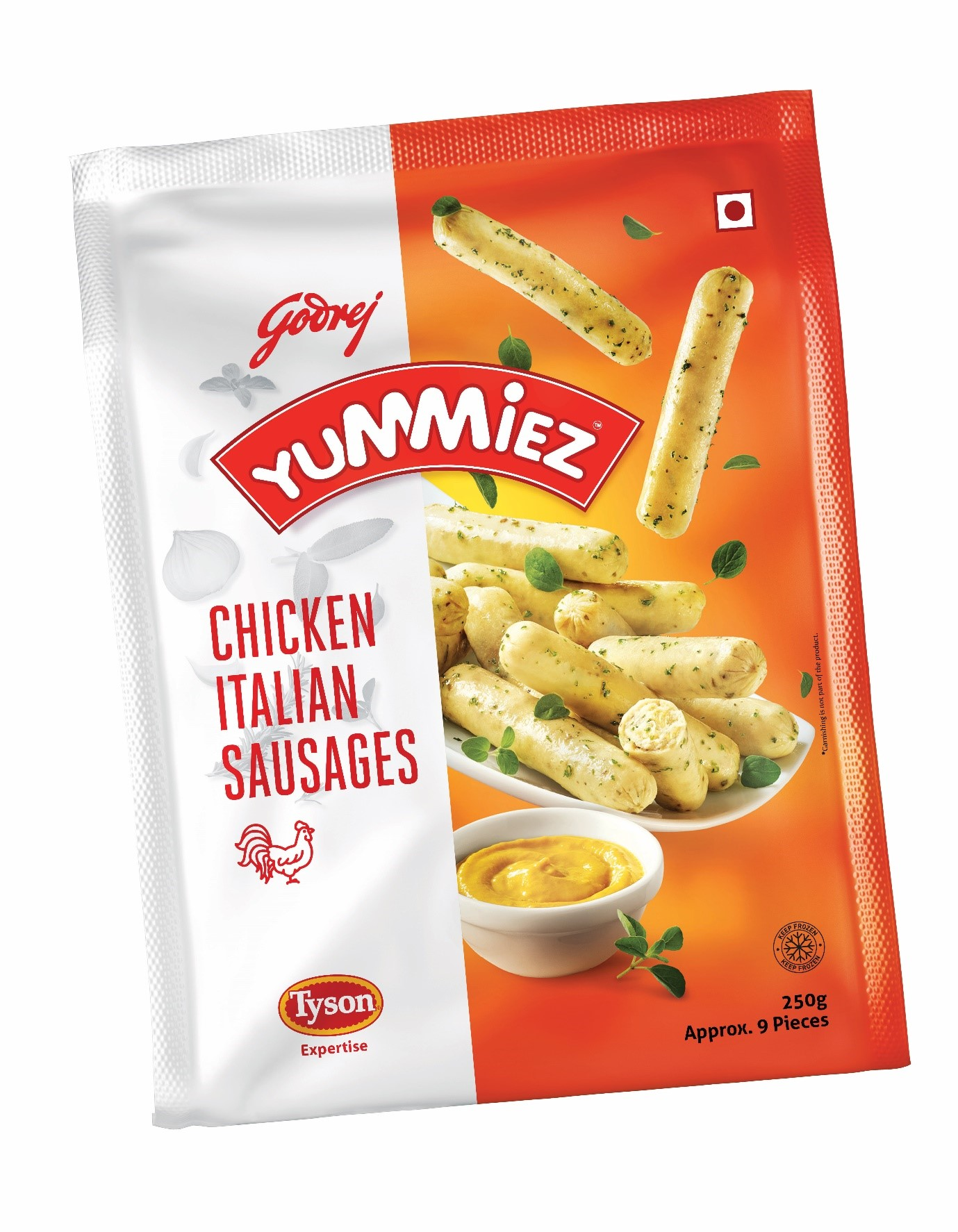 Yummiez Chicken Italian Sausages 250 g