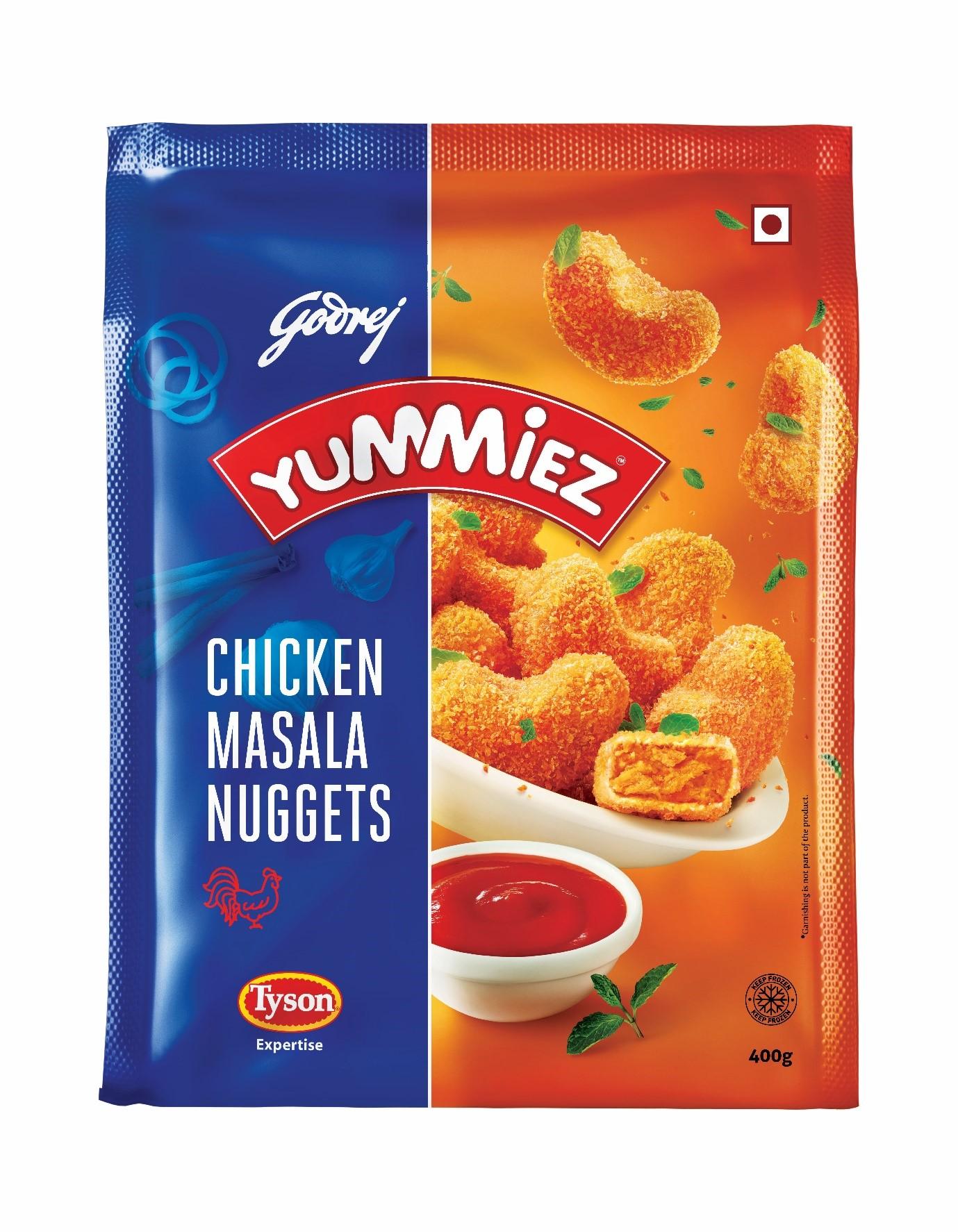 Yummiez Chicken Masala Nuggets 400 g