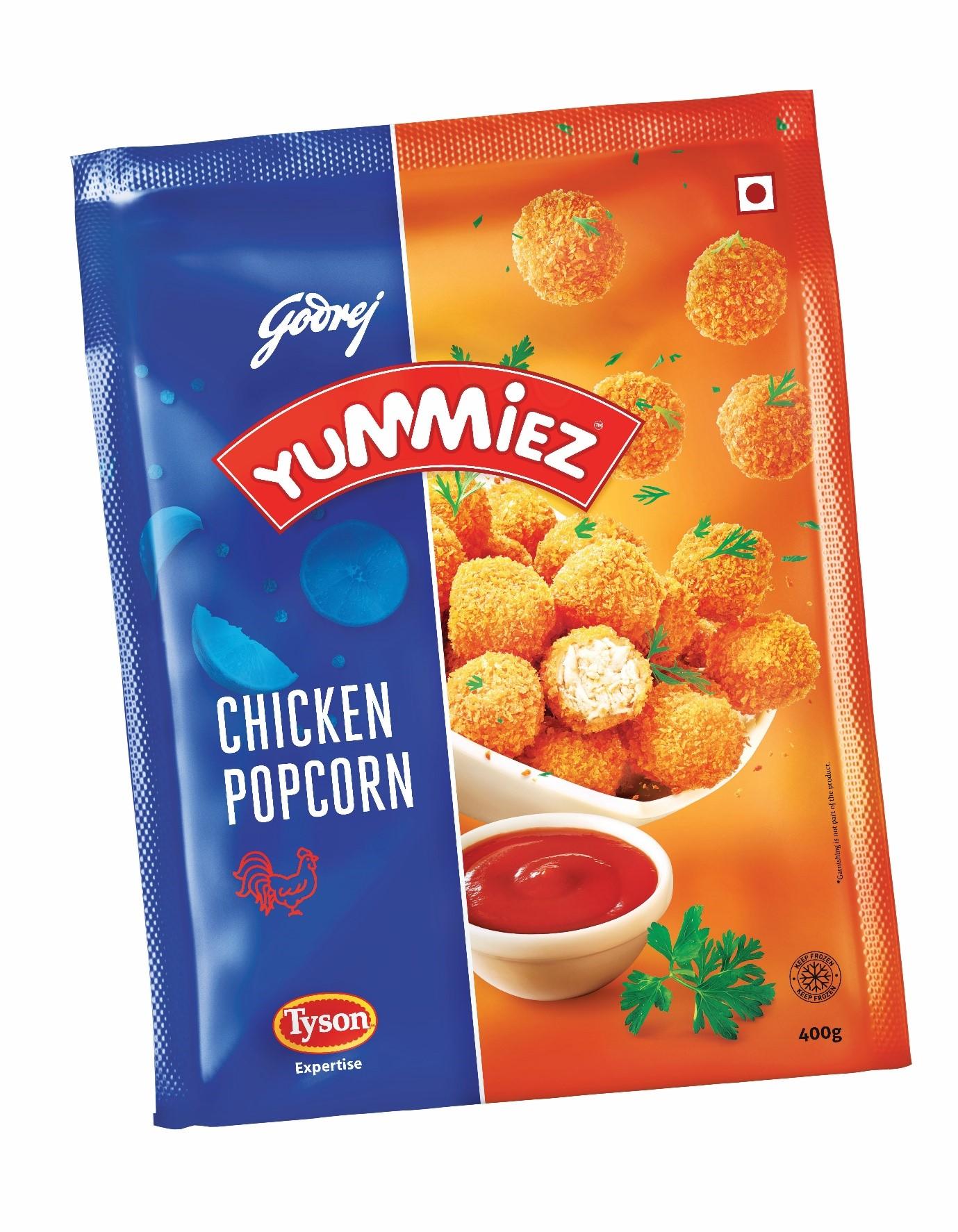 Yummiez Chicken Popcorn 400 g