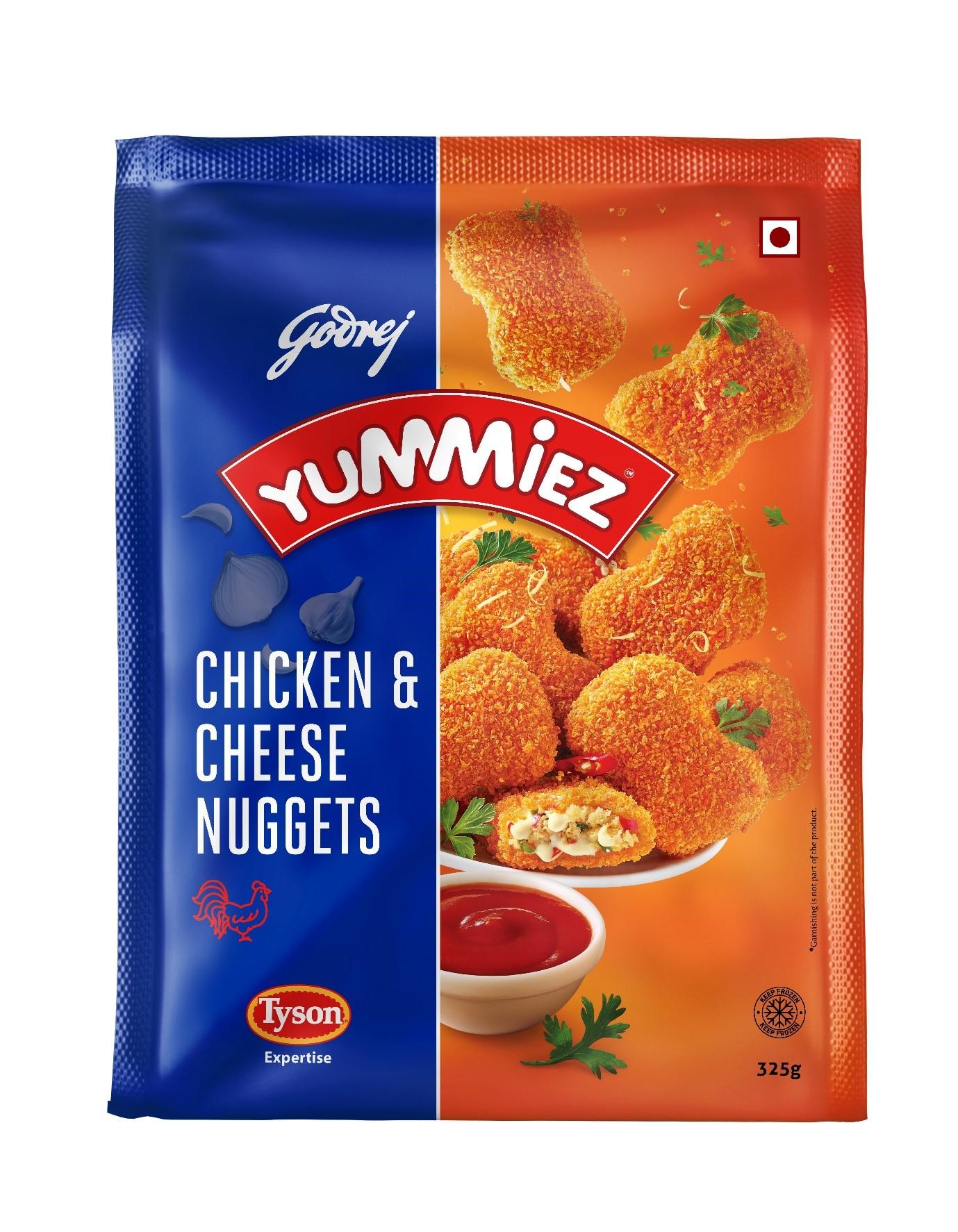Yummiez Chicken & Cheese Nuggets 325 g