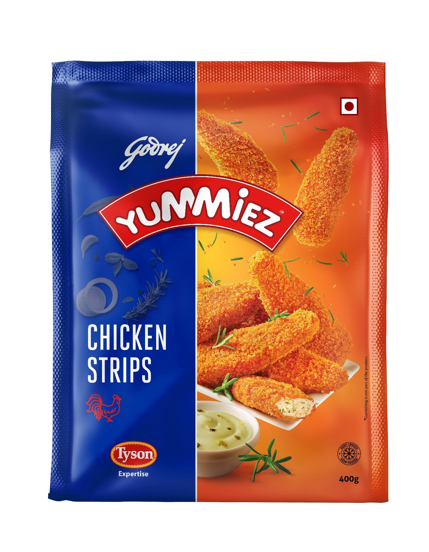 Yummiez Chicken Strips 400 g
