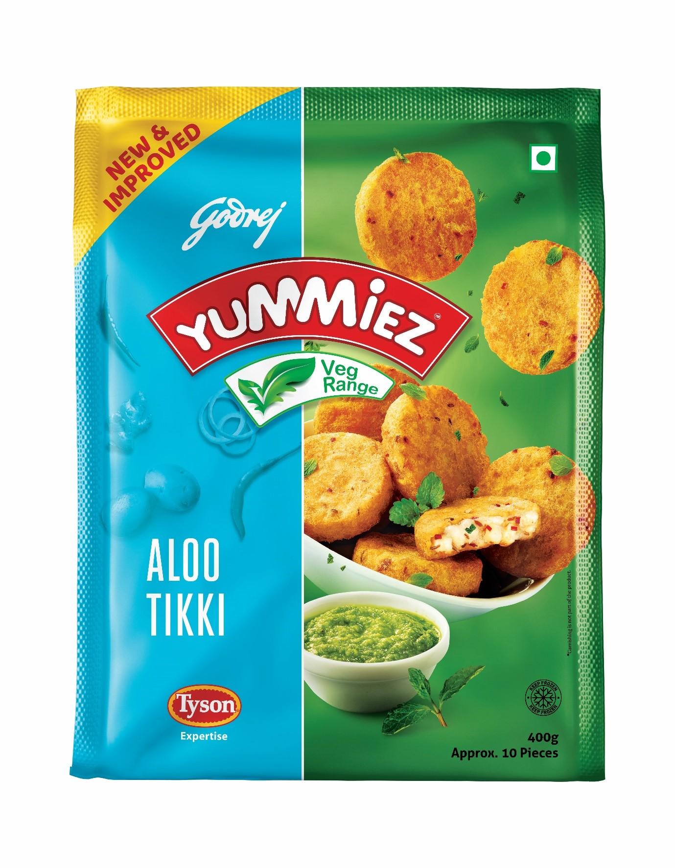 Yummiez Aloo Tikki 400 g