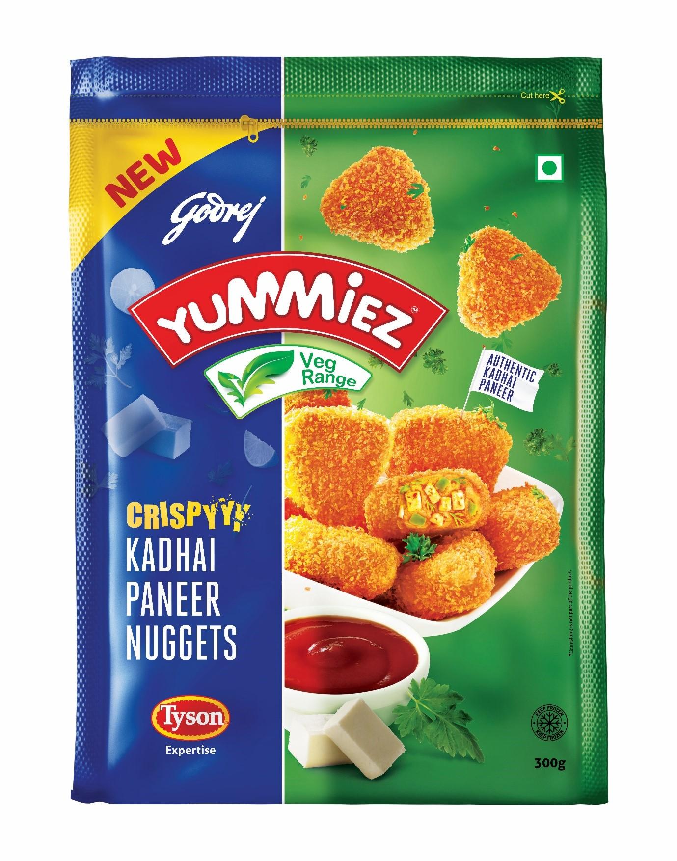 Yummiez Crispy Kadhai Paneer Nuggets 300 g