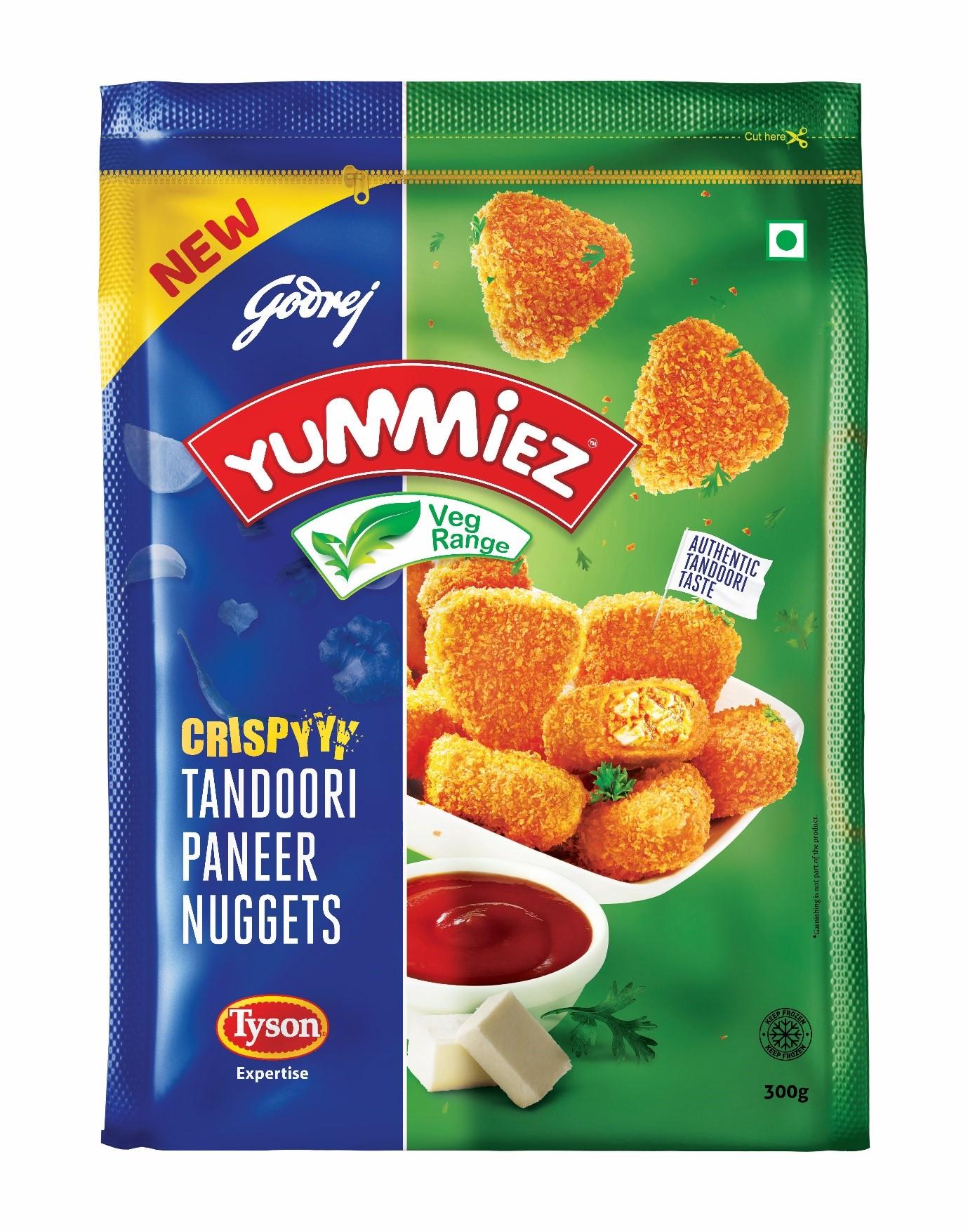 Yummiez Crispy Tandoori Paneer Nuggets 300 g