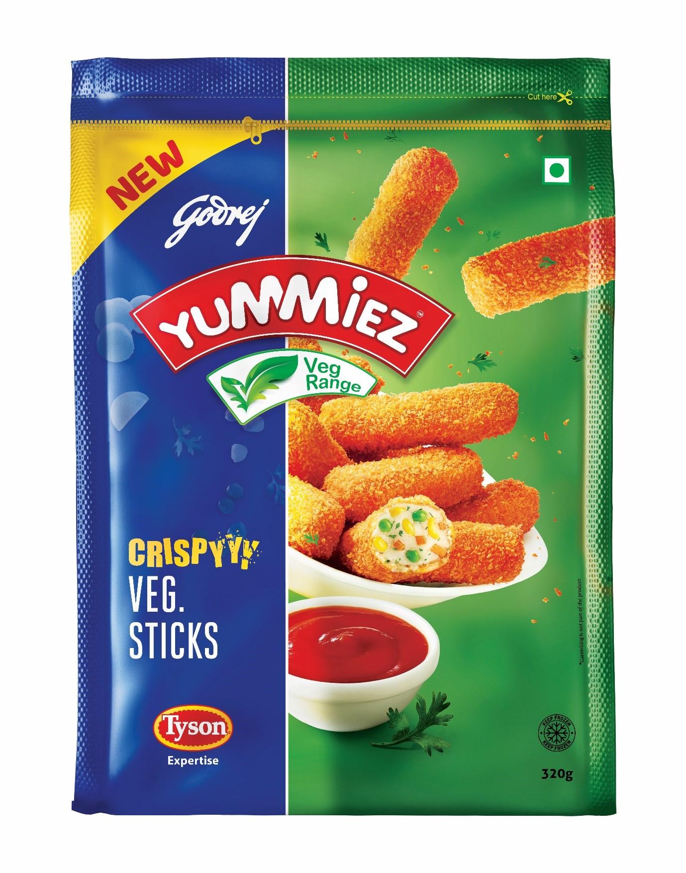 Yummiez Crispy Veg Sticks 320 g