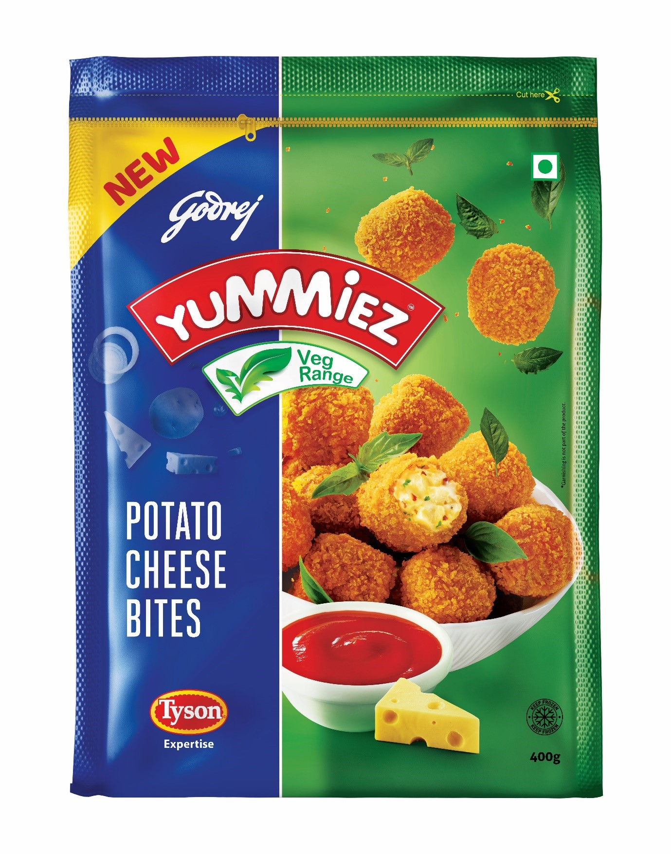 Yummiez Potato Cheese Bites 400 g