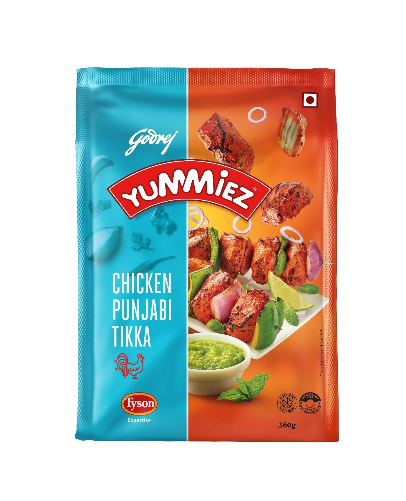 Yummiez Chicken Punjabi Tikka 360 g