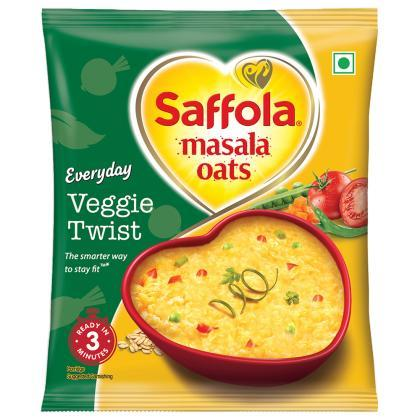 Saffola Masala Oats - Veggie Twist 38 g