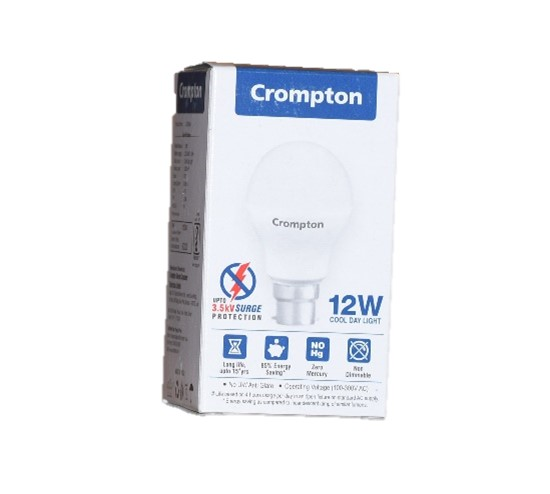 Crompton 12W LED Cool Day Light with voltage surge protection