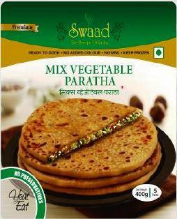 Swaad Mix Veg Paratha 400g