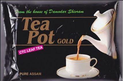 Tea Pot Gold Premium CTC Leaf Tea - 100 g