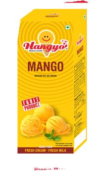 Hangyo Mango Ice Cream Box - Family Pack