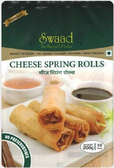 Swaad Cheese Spring Rolls 200 g