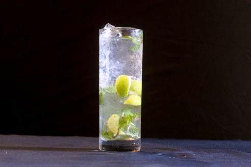 Ginger Mojito Mocktail
