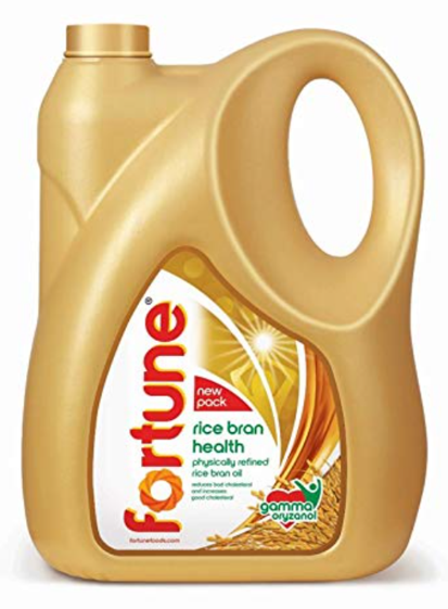 Fortune Rice Bran Cooking Oil - 5 Litres