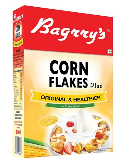 Bagrry's Corn Flakes Plus - Original & Healthier - 475 g