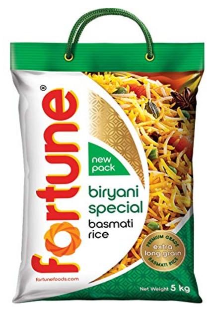 Fortune Biryani Special Basmati Rice - 5Kg