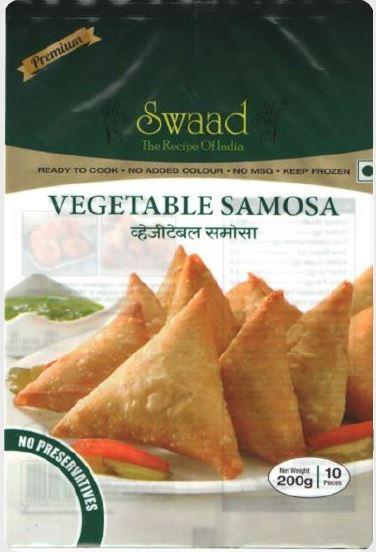 Swaad Vegetable Samosa 200 g