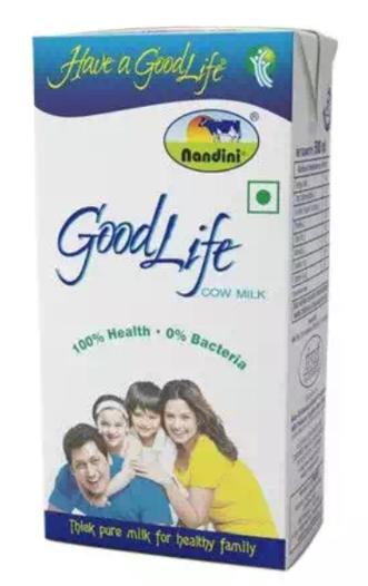 Nandini Goodlife Toned Milk - Tetra pack 500 ml